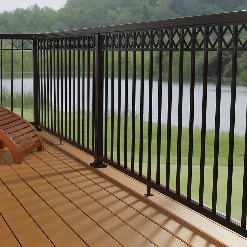 Aluminum Porch Hand Railing Installation Shreveport