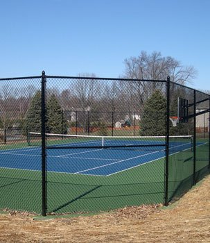 Tennis Courts Fence Installation Shreveport